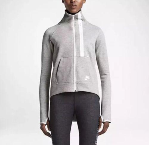 NWT Nike Women's Tech Fleece Moto Cape Grey Heather 642688 050 Retail $160 SZ L Clothing, Shoes & Accessories:Women's Clothing:Athletic Apparel #nike #jordan #shoes $55.00