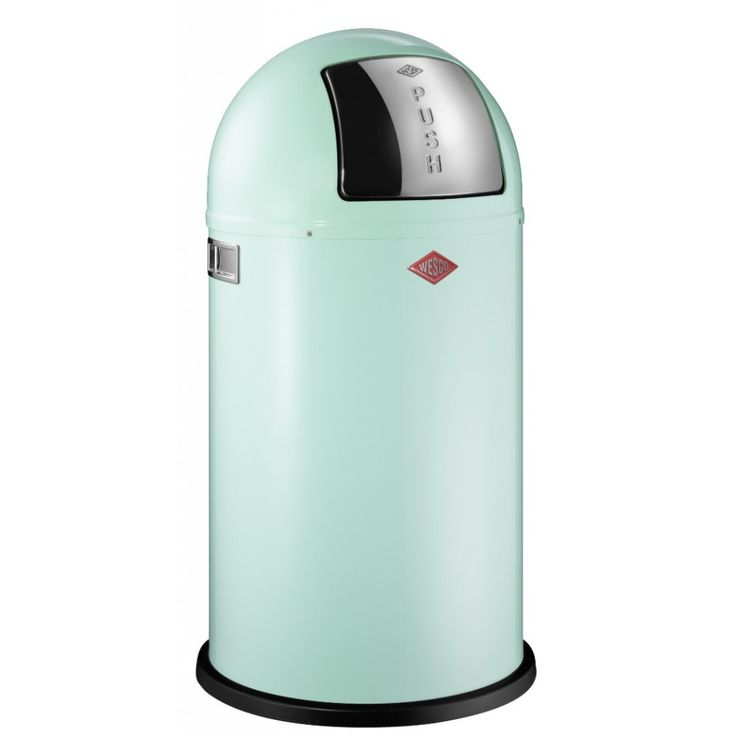 Wesco Mint Pushboy Bin - 50L - Binopolis