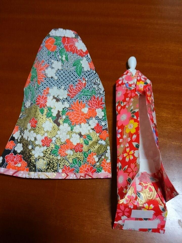 舞妓和紙人形と歌舞伎シールしおりと速報東京五輪追加種目|下山弘子