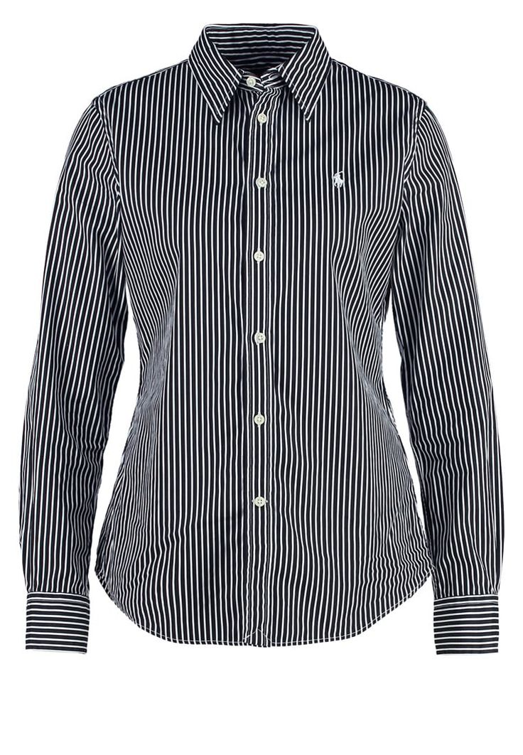 Polo Ralph Lauren HARPER CUSTOM FIT Hemdbluse nero/white Premium bei Zalando.de | Material Oberstoff: 100% Baumwolle | Premium jetzt versandkostenfrei bei Zalando.de bestellen!