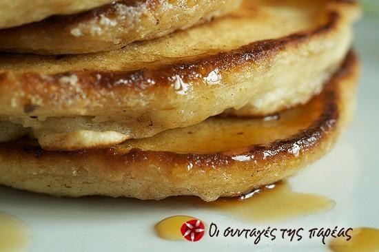 Pancakes από Βρώμη... με αγάπη! #sintagespareas