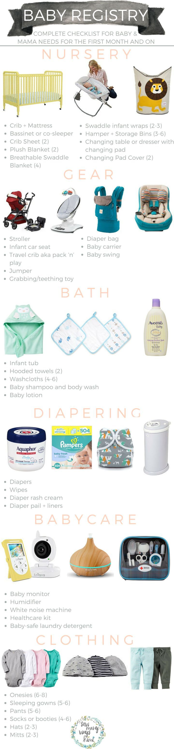 Best 25+ Baby checklist ideas on Pinterest | Baby needs list ...