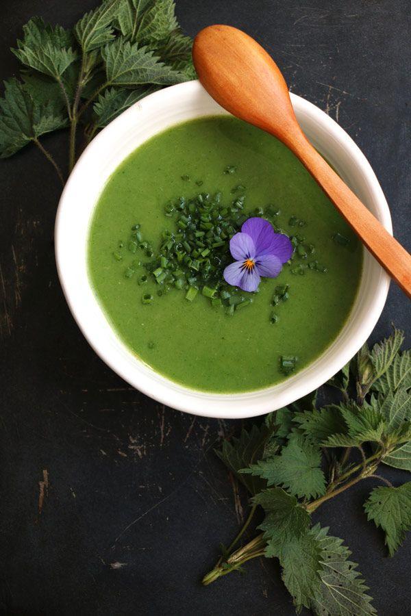 Spring Nettle Soup - Nirvana Cakery