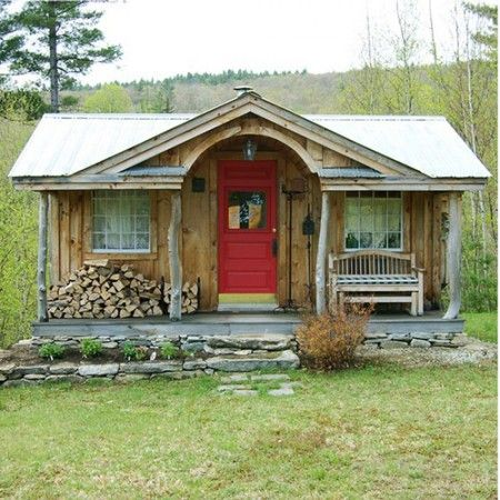 Love this cabin, but it only comes built - I need a pre-cut kit. Gibraltar Cabin - Jamaica Cottage Shop. I could live in that!