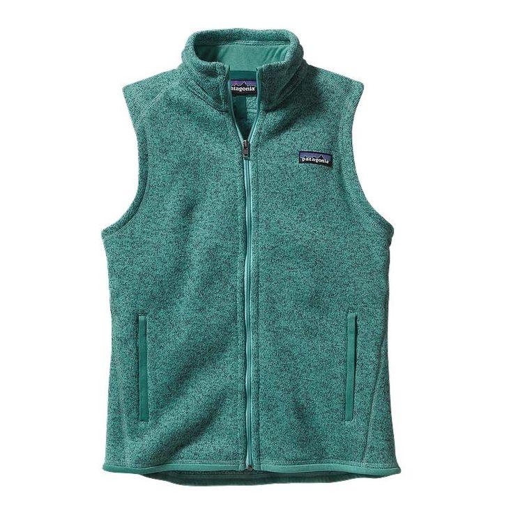 Patagonia Women\'s Better Sweater\u00AE Fleece Vest - Beryl Green BRYG