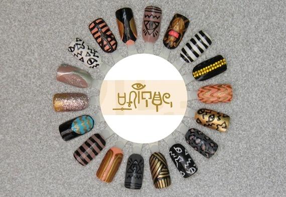 <3: Rockstar Nails, Nails Nails, Nails Art, Nails Wheels, Color Wheels, Nails Color, Neato Nails, Hairs Nails, Nails Designs
