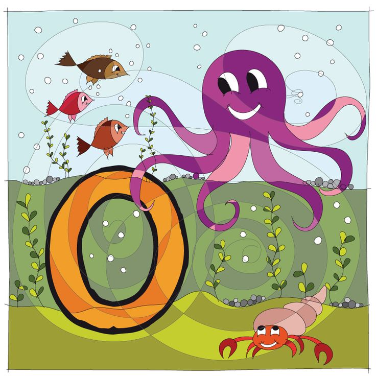 Next what we have is our letter O for Octopus :-) #HAPIdesign #octopus #sea #underwater #kids #letters #smile #cute #drawing #follow