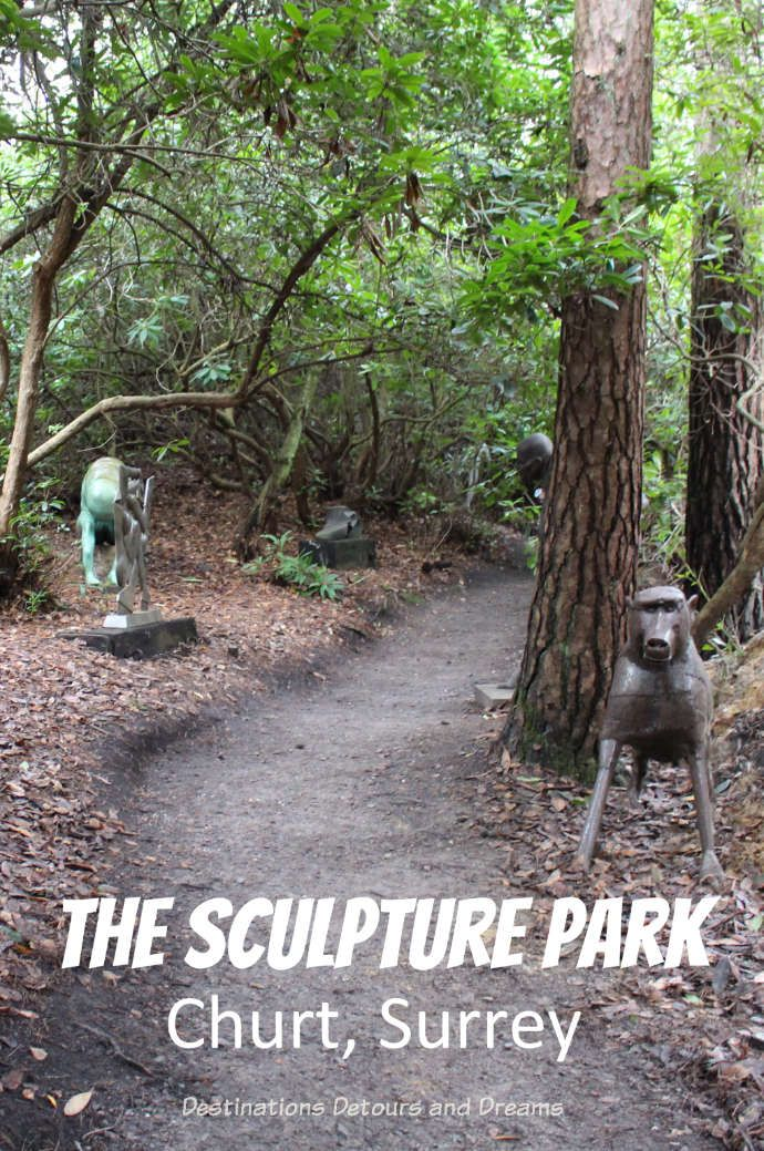 The Striking Serenity of The Sculpture Park in Churt
