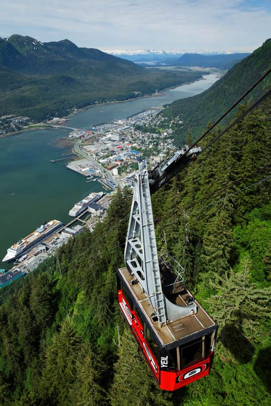 mt roberts tramway - In Juneau take the tram to the top of Mt. Roberts for unbelievable views!
