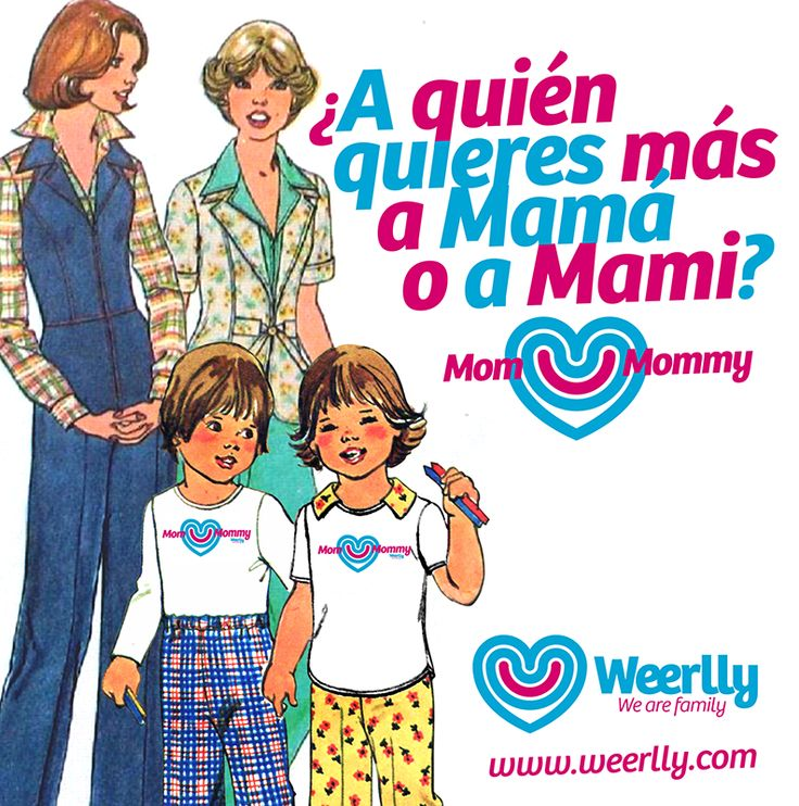 ¿A quién quieres más a #Mamá o a #Mami? #Familia #Homoparental