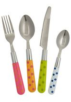 Mix & Munch Cutlery Set in Multicolor-so cute-look for something similar, but better quality.