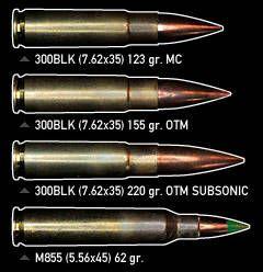 .300 AAC BLACKOUT (.300 BLK / 7.62x35mm) - The Firearm Blog