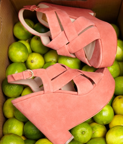Dolce Vita.... coral wedge