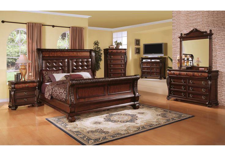 Best 119 Best Bedroom Sets Images On Pinterest Queen Bedroom 400 x 300