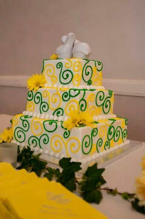 John Deere Wedding Cake Minus The Birds On Top
