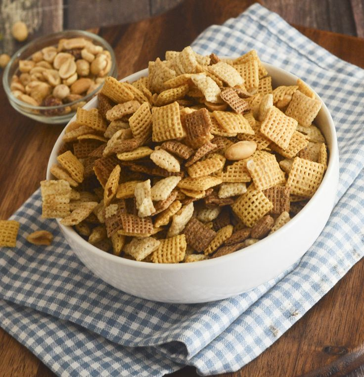 Party Chex Mix – Weight Watcher's – Recipe Diaries                                                                                                                                                                                 More