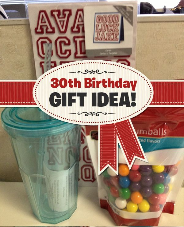 Budget Bugle™ | Coupon Alert | 30 Blows: 30th Birthday Gift Idea