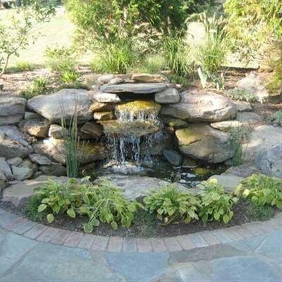 Centro de atracci n valoriza un jardin tal vez aburrido for Garden pond care
