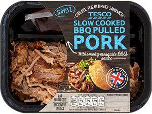 Tesco BBQ Pulled Pork