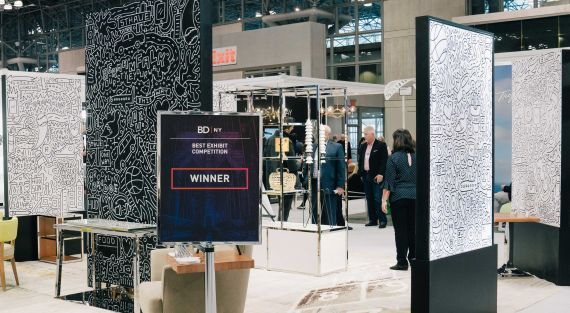 BERMANFALK at BDNY tradeshow display #timothygoodman #trade #show #awardwinning #manufacturing #hospitality #manufacturer #company   Branding and web design by Studiothink / Vancouver, BC #vancouver #SurreyBC #branding #design #stationery #brochure #website #webdesign #creative #agency