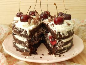Mi mundo pinkcake: Tarta Selva Negra