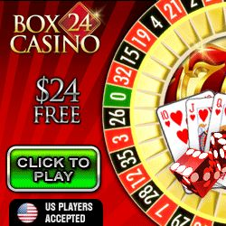 $25 FREE @ Box 24 Casino (Top Game) Usa Ok. Also Receive 300%-500% Match (Choose Your Bonus). Download/Flash. Offer Here: http://casinondcentral.myfreeforum.org/about285.html