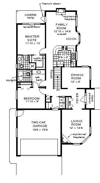 House Plan chp-2723 at COOLhouseplans.com