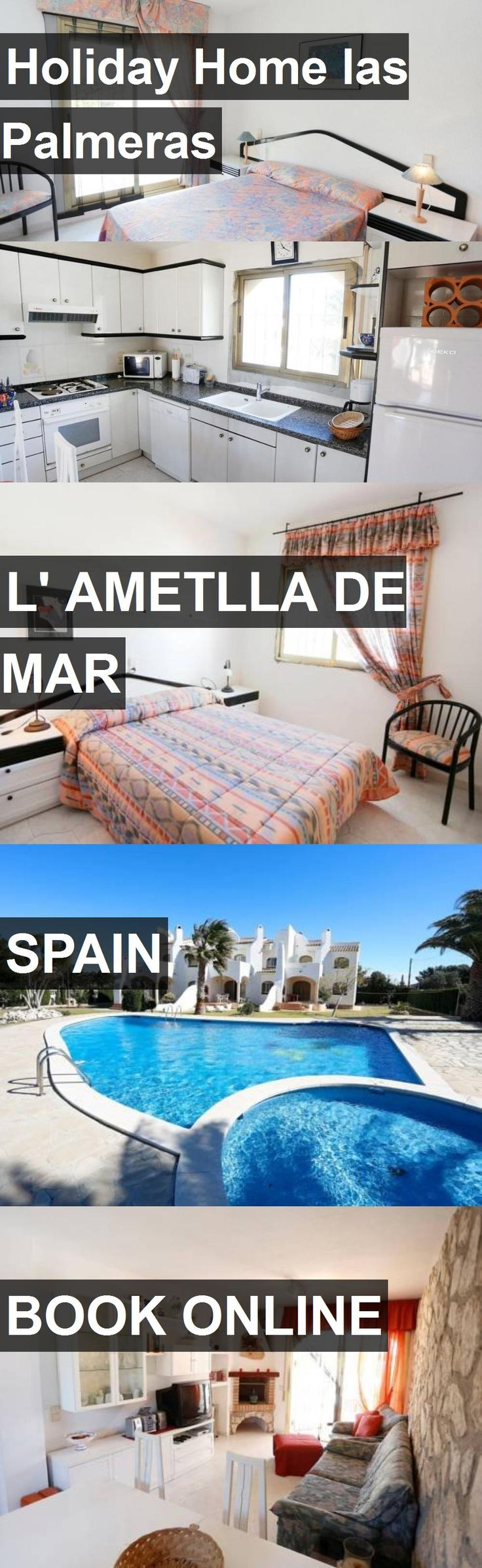 Hotel Holiday Home las Palmeras in l' Ametlla de Mar, Spain. For more information, photos, reviews and best prices please follow the link. #Spain #l'AmetlladeMar #travel #vacation #hotel