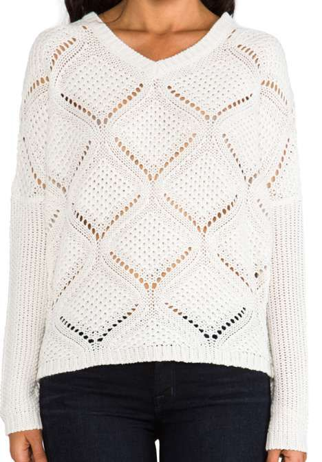 BB Dakota Cody Over Sized Cable Knit Pullover for $61 / Wantering