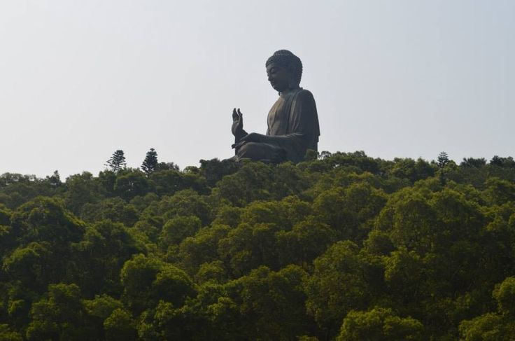 Tian Tan Buddha, also known as the Big Buddha, is a large bronze statue of Buddha Shakyamuni, completed in 1993, and located at Ngong Ping, Lantau Island, in Hong Kong.