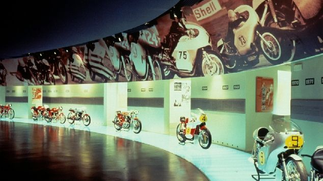 Ducati Museum & Factory in Bologna. Book several weeks in advance