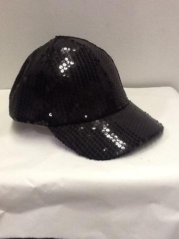 6881d777abc Black sequin ball cap