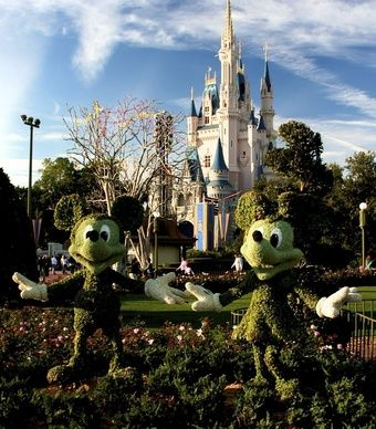 Cinderella's Castle in Walt Disney World in Orlando, still as magical as ever.