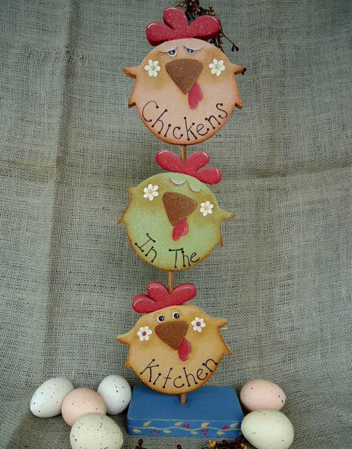 The Decorative Painting Store: Chickens in the Kitchen Stack e-Pattern DOWNLOAD, Newly Added Pattern Packets