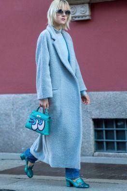 Londra ve Milano Erkek Moda Haftası Sokak Stili