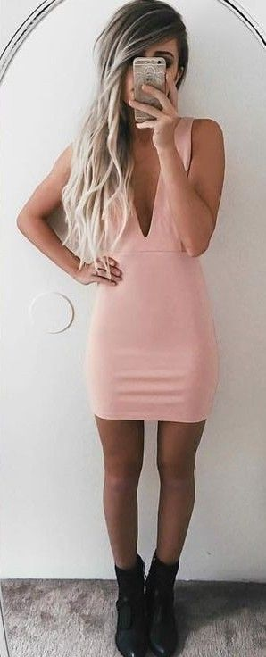 #summer #ultimate #outfits |  Pink Fluid Dress
