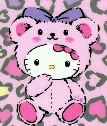 522 best hello kitty sanrio images on pinterest hello kitty hello kitty in a teddy bear suit thecheapjerseys Image collections