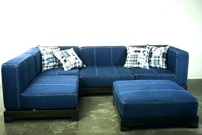 Blue Jean Sofa Blue Jean Couch Blue Jean Sofa Unique Sectional