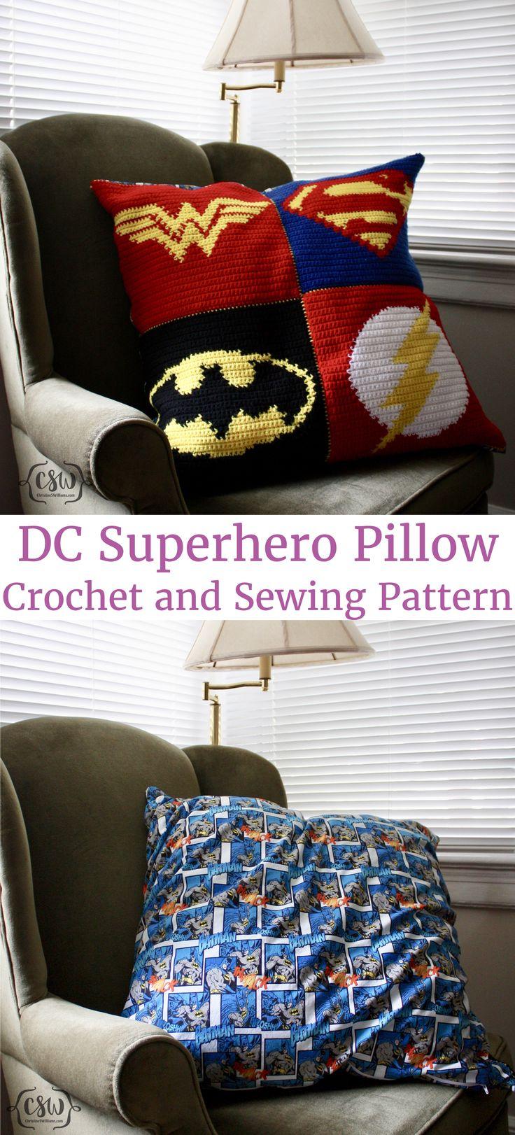 Batman Cushion Knitting Pattern : Best 25+ Crochet batman ideas on Pinterest