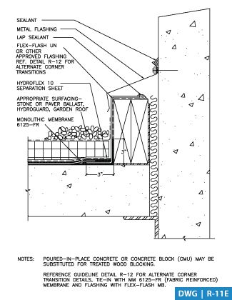 Roof Garden Parapet Detail Google Meklē Ana Detailed