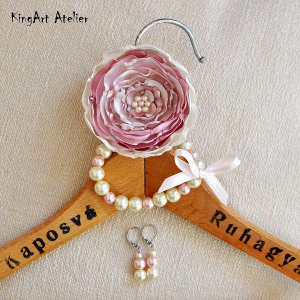 Handmade romantic jewelery by KingArt Atelier