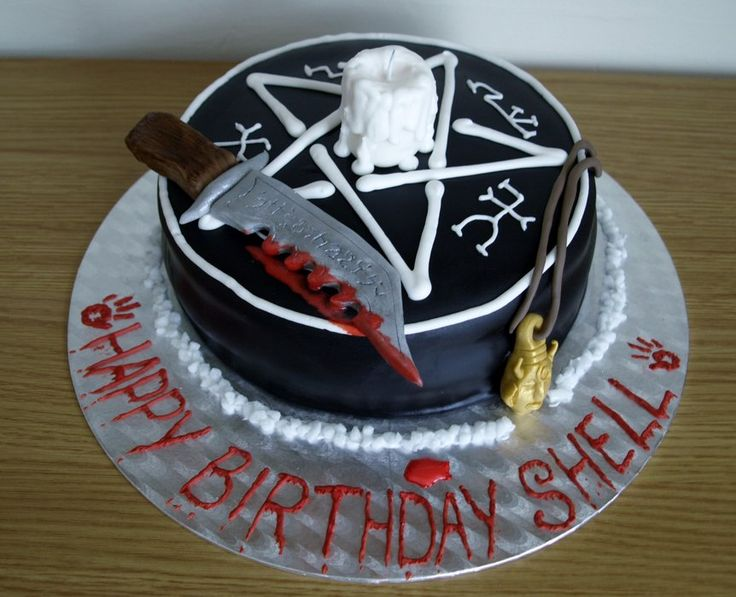 Supernatural Cake - by CathysCakes @ CakesDecor.com - cake decorating website