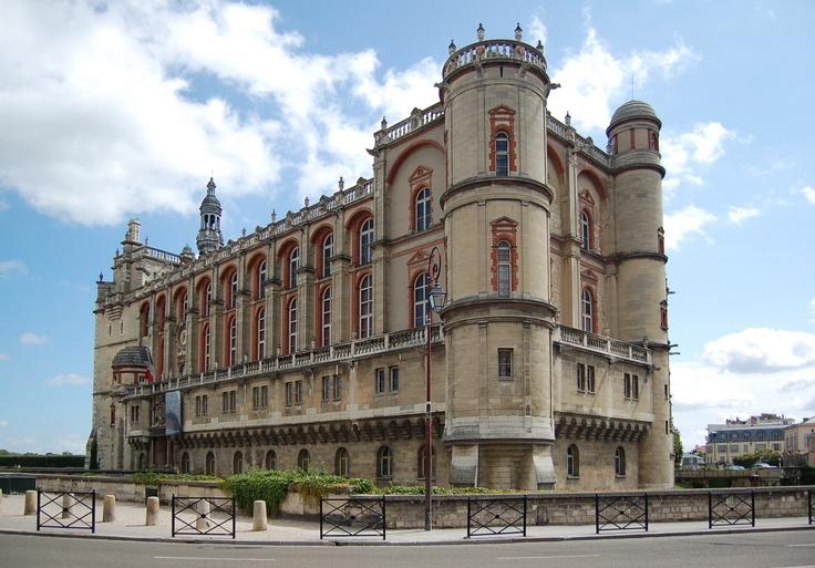 Le Château de Saint-Germain-en-Laye – France.