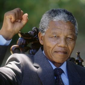 Nelson Mandela was the president of South Africa from 1994 to 1999. His government helped to stop apartheid (the dividing of people by their race). For this he was awarded the Nobel Peace Prize in 1993 after which he became the president..