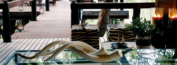 Tree Camp Deck at Londolozi