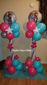 Картинки по запросу decoracion globos frozen