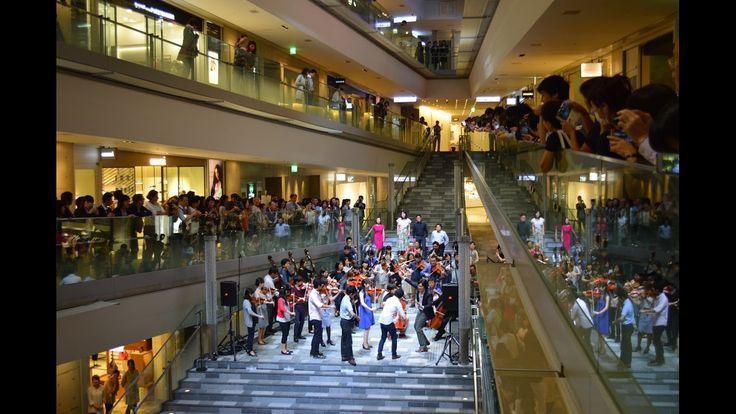 """Flash mob """"Beethoven's Symphony No. 9"""""""