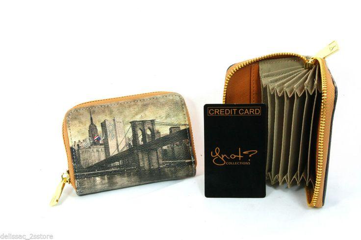 Porta carte di credito Donna Y Art.C360 new collection 2014/2015 New York  http://stores.ebay.it/delissac-2sstore