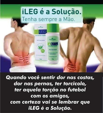 Diga adeus a dores musculares!! Com ILeg você elimina de uma vez o incomodo em apenas 21 dias! Testado e aprovado !! compre em http://online.hinode.com.br/3566470