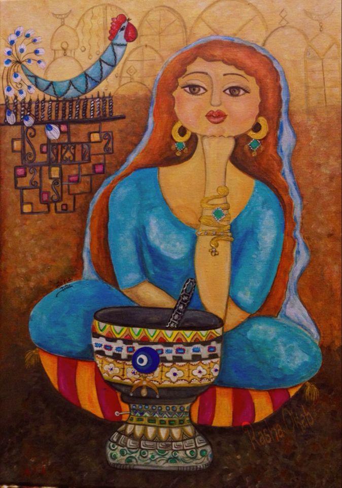 By Iraqi artist - Rasha Okab